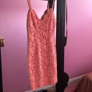 Lulu's Lace Bodycon Dress